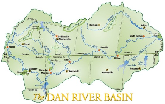Dan River Basin Cities
