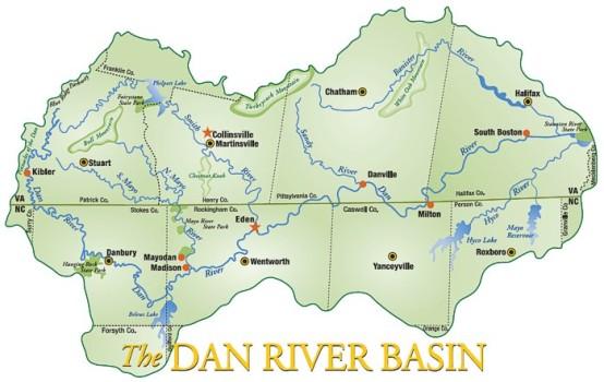 Dan Valley Map
